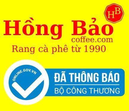 Hồng Bảo coffee đã đăng ký với bộ công thương